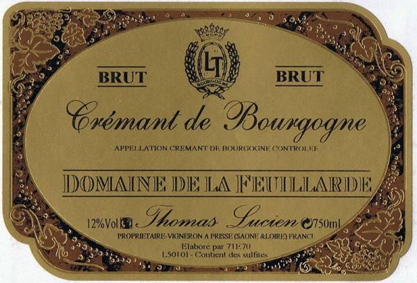 Crémant de Bourgogne Domaine de la Feuillarde