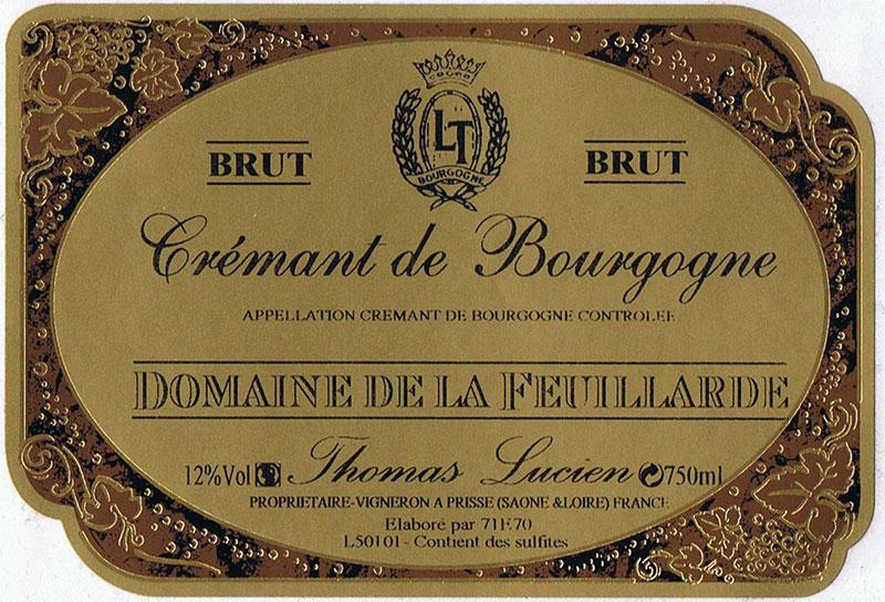 photo Domaine de la Feuillarde Cremant de Bourgogne