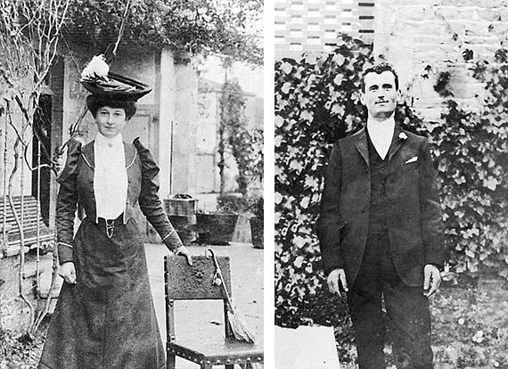Jean-Marie Thomas et Claudine Rogeat épouse Thomas