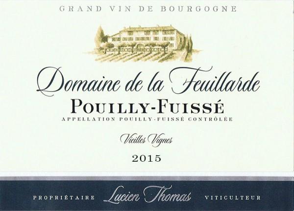 Pouilly-Fuissé Vieilles Vignes 2015