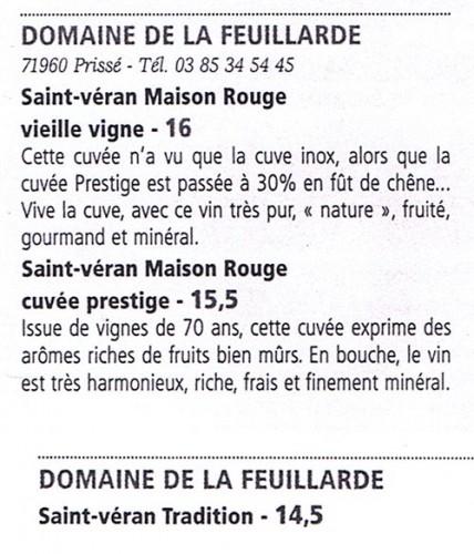 Bourgogne Aujourd'hui millésime 2013 UN GRAND « OUF » DE SOULAGEMENT