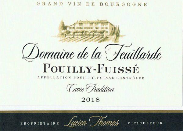 Pouilly-Fuissé Cuvée Tradition 2018