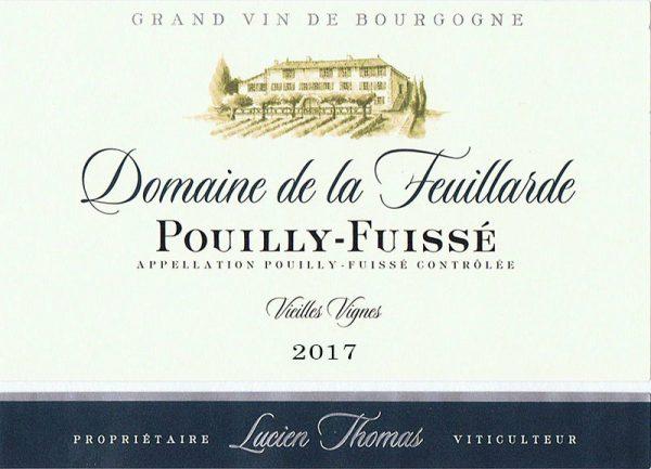 Pouilly-Fuissé Vieilles Vignes 2017