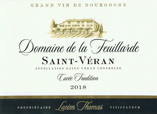 Saint-Véran Cuvée Tradition 2018